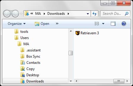 Blogmogrifier is inside Retrievem.exe